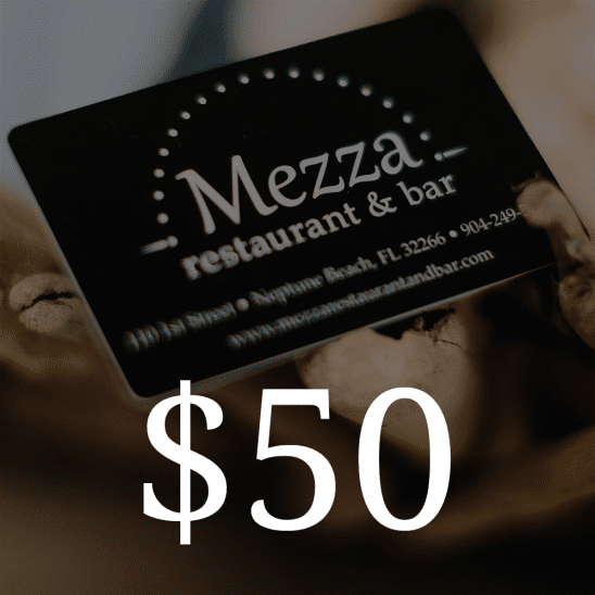 Mezza Restaurant $50 Gift Card