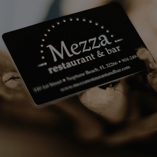 Mezza Restaurant Name Your Price Gift Card