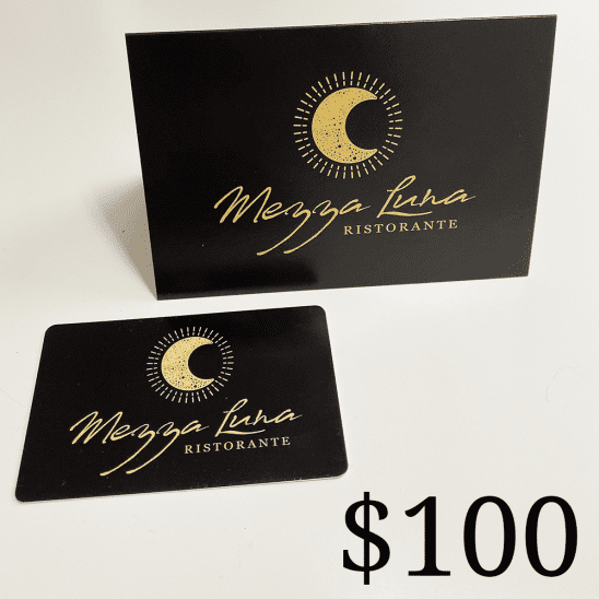 Mezza Restaurant $100 Gift Card