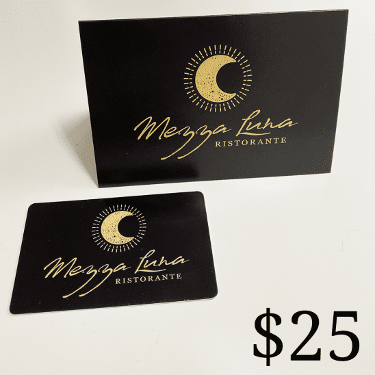 Mezza Restaurant $25 Gift Card
