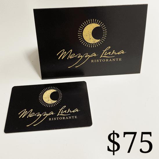 Mezza Restaurant $75 Gift Card